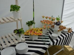 Сімейний пікнік-барбекю - Фуршетний стіл